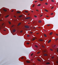 Sakura - huile sur toile 120 x 135 cm Sfr. 4'600.-