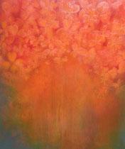 Sakura III - huile sur toile 120 x 135 cm Sfr. 4'600.-