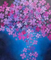 Sakura II - huile sur toile 120 x 135 cm Sfr. 4'600.-