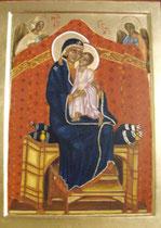 Vierge et enfant debout vendu