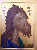 28 - Visage du Prophète Saint Jean Baptiste