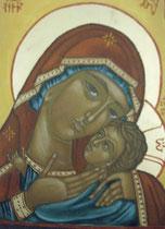 14 - Vierge de Tendresse -vendu