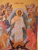 La Résurrection dimension 45 x 60