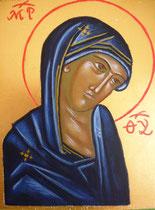 18 - Visage de la Mère de Dieu - vendu