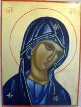 13 - Visage de la Vierge