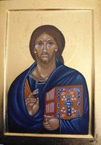 Christ Pantocrator inspiré Christ Mont Sinaï 6ème siècle - vendu
