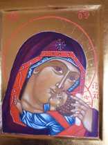 16 - Vierge de Tendresse - vendu