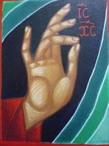 34 - Main bénissant du Christ