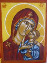 7 - Vierge de tendresse - vendu