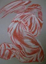27 - Ange gardien - pastel - 2013
