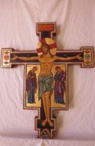 Le Christ en croix triomphant dimension hauteur 60 cm
