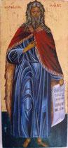 Le Prophète Elie - vendu