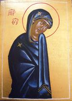 Vierge (détail vierge de la Croix du Christ)