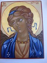 Ange gardien aux boucles d'or