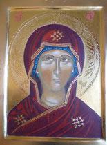 Visage Vierge crétoire 16ème siècle - 2017