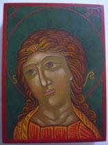 55 - buste Archange Gabriel (l'Ange aux boucles d'or) - dimensions 13x17