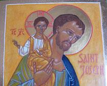 détail Icône Saint Joseph