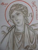 10 - Ange gardien - pastel - 2012 - vendu