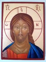Visage du Christ - dimensions 13x17 - 2021 - Vendu