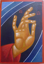 43 - Main bénissant du Christ