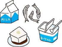 食材 カルシウム 牛乳 煮干し とうふ ヨーグルト