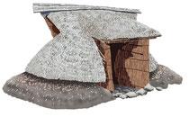 建設 建物 縄文時代 竪穴住居