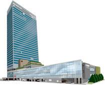 建設 建物 新宿 Newoman ミライナタワー 外観