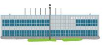 建設 建物 調布飛行場
