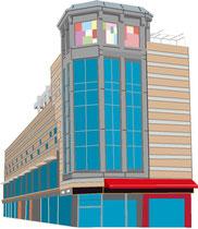 建設 建物 自由が丘デパート