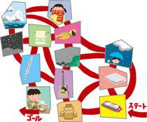 児童 生徒 教科書 テキスト パズル クイズ 迷路