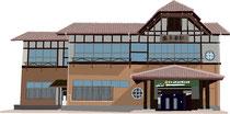 建設 建物 店舗 JR奥多摩駅 駅舎