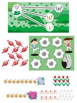 児童 生徒 教科書 テキスト パズル クイズ