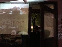"minibar | Videoinstallation ""Godzilla tanzt"""