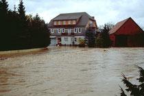geht bei Hochwasser Land unter!