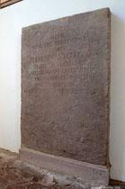 Gedenkstein für den Abt Andreas Steinhauer