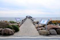 Die Seebrücke.