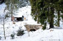 Rieche Hütte an der Bärenbrücke
