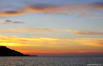 Sonnenuntergang über Bansin. Fotokollegen hatten mir vom Usedomer Licht vorgeschwärmt....wie Recht sie hatten!!