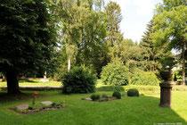 Der kleine Klosterfriedhof