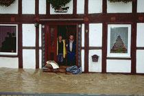 ...hilft bei Hochwasser nichts mehr!