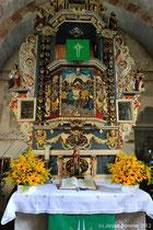 Der Altar ist etwas ganz besonderes