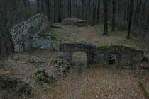 Teile der ehemaligen Befestigung vom Turm aus gesehen