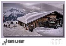 · foto-kunst-kalender 2013 · januar · yak © 2012 RK