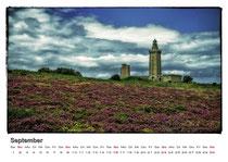 · kalender 2012 · september · bretagne · cap frehel · 2007 · yak © 2012 RK