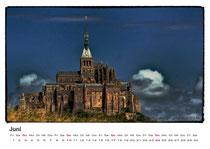 · kalender 2012 · juni · mont-saint michel · 2007 · yak © 2012 RK