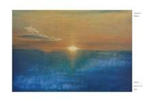 2008年 沈みゆく夕日 M20