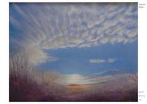2011年 雲の行方 F50 瀬戸市美術展 奨励賞