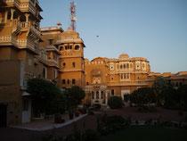unser Hotel - ein Palast aus dem 17. Jhdt.