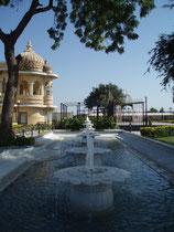 Garten auf Jag Mandir