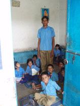 in der Dorfschule